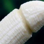 банан в форме члена