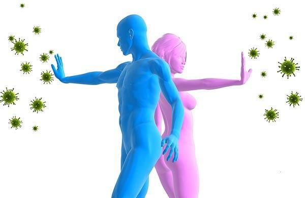рисунок мужчины и женщины